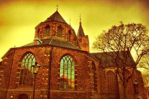 church of Naarden by Yoquini