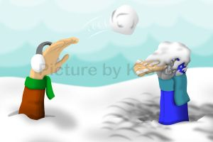 Snowball Fight by K-S-O