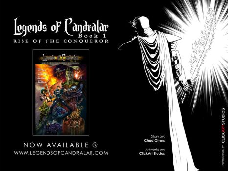 Legends of Candralar Book 1: Rise of the Conqueror by Candralar