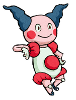 Mr Mime WWS by the19thGinny