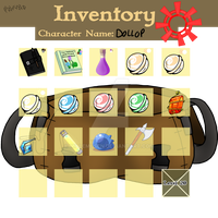 [whistlercrest]Dollop Bag Inventory by millemusen