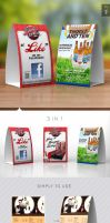 Paper Table Tent Mock-up Template Vol.2 by Itembridge