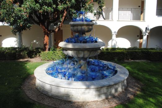 Sapphire Glass Fountain by Colonel-Knight-Rider