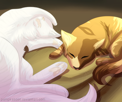 not as lonely as before by pumpkabooo