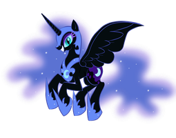 Nightmare Moon by Bratzoid