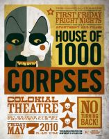 house of 1000 corpses poster by strongstuff