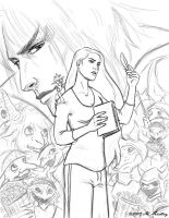 Immortal Love cover - Pencils by MelissaFindley