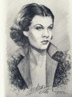 Vivien Leigh by ANsDemons