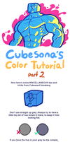 TUTORIAL: COLORS PART 2 by Cubesona