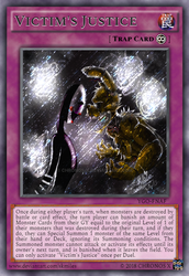 Victim's Justice (Continuous Trap - Secret Rare) by Chronos-X