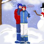 oh its so cold outside by x-Chelsea-x