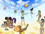 Summmer Contest! MWGG Beacharific! by MWRuuRuu