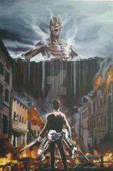 Attack On Titan by Bakerthemarc