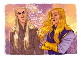LOTR - Stop that ! by the-evil-legacy