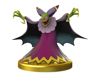 Cackletta: Smashified Trophy by Sean-the-Artist
