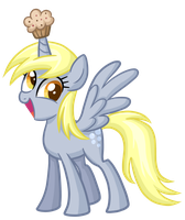 I am Princess Derpy, I have come for your muffins! by TheCheeseburger