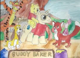 My Little Pony composers Buddy Baker by merrittwilson