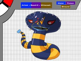 Arbok + Beedrill + Whiscash