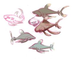Day 1 2012 Ocean Whitetips by indigofox