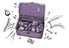 suitcase by 0-4