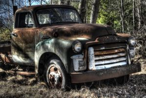 Old Truck by k3nux