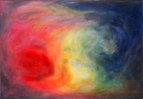 circulation of colours - my old exercise work by creapicform