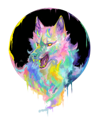 Candy Wolf by Asteltainn