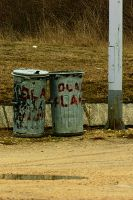 trashcans by tmt