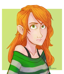 Caitlin [Request] by clarinking