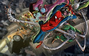 The Sinister Six by nfteixeira