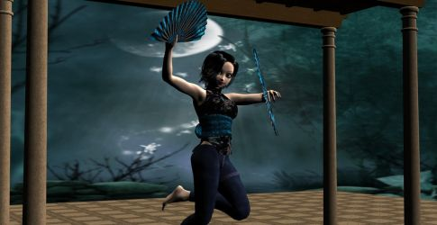 Lilys Moonlight dance by E-J-Works