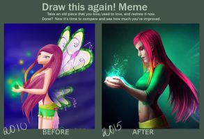 Meme: Before and After by Rheyan