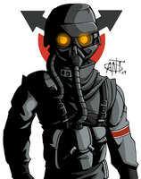 The Helghast by AntManTheMagnif