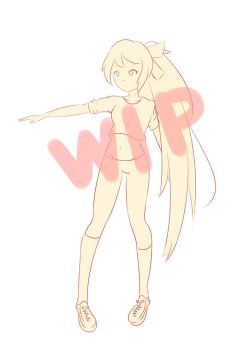 Special gift for my imouto [WIP] by Neko14senpai