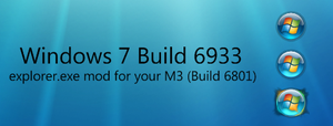 Windows 7 Build 6933 Start Orb by LiShaolan