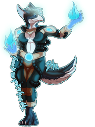 Blu-Brand Badge by LadyDistort
