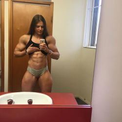 Ashleigh Pope muscle morph 01 by Someperson192