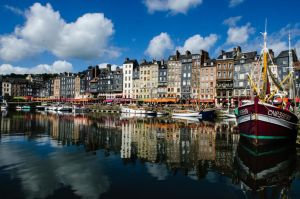 Honfleur old Harbor by DegsyJonesPhoto