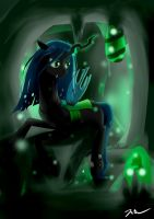 Queen Chrysalis by Camaine