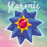 Starmie by SuperEdco
