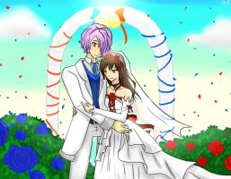 Ib and Garry. marriage by GredellElle