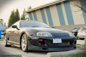 Sunset Supra by SeanTheCarSpotter