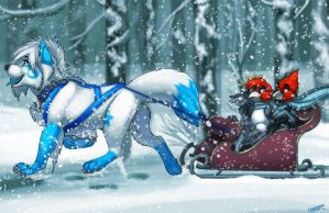 Lovely Weather For a Sleigh Ride Together by Ifus
