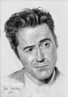 robert downey jr by ItsMyUsername