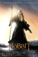 The Hobbit fan Gandalf poster by crqsf