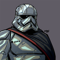Captain Phasma by DerekLaufman