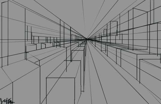 Forms and perspective practice 2 by joycie24