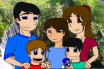 My family 15 years ago by Mr-Page