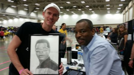 Levar Burton and David Chandler by DChan75