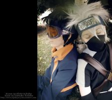 Obito and Kakashi: resting by ToraCosplayers